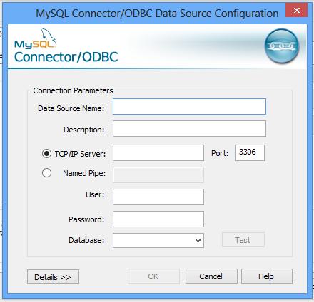 ODBC Mysql Form